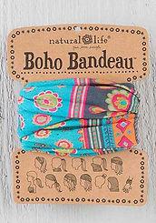Natural Life Boho Bandeau Turquoise Medallion