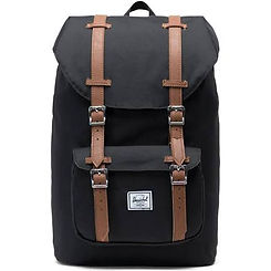 Herschel Supply Co. Little America Mid Backpack Poly Black/Tan