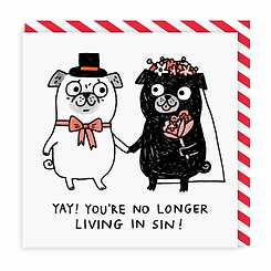 Greeting Card: No Longer Living in Sin