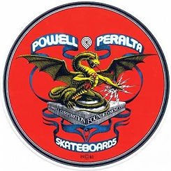 Powell Peralta Banner Dragon Decal