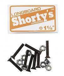 "Shorty's 1 1/8"" Phillips Longboard Hardware"