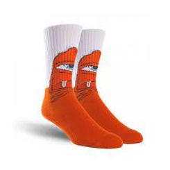 Toy Machine Bored Sect Sock White
