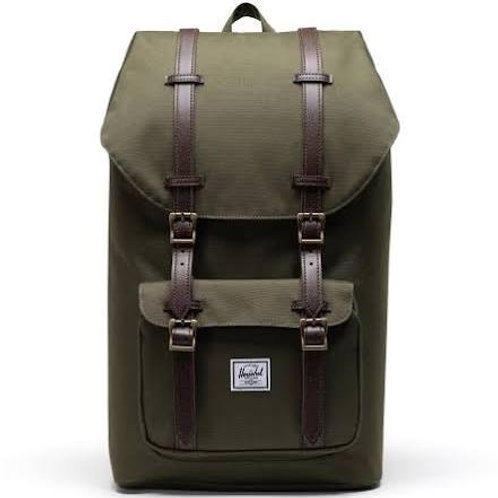 Herschel Supply Co. Little America Backpack Ivy Green/Chicory Coffee
