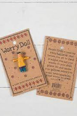 Natural Life Worry Doll Boy