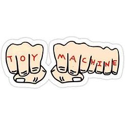 Toy Machine Fists Sticker Medium