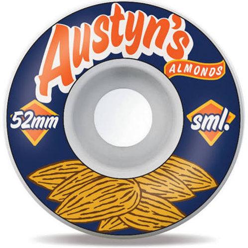 SML Wheels Classics Series Austyn Gillette OG 52mm 99a
