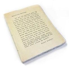 Large Deckle Edge Notebook: Beautiful Darling