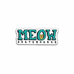Meow Logo Sticker