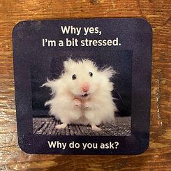 I'm a Bit Stressed! Coaster
