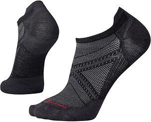 Smartwool Men's PhD Run Ultra Light Micro Socks Black