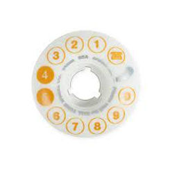 Dial Tone Rotary Standard Wheel 54mm 85a