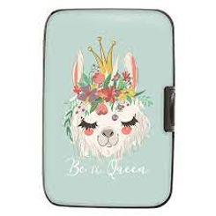 Llama Be A Queen Armored Wallet