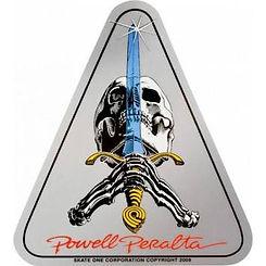 Powell Peralta Skull & Sword Sticker