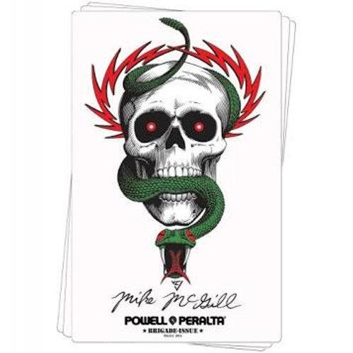 Bones Brigade McGill Skull & Snake Sticker