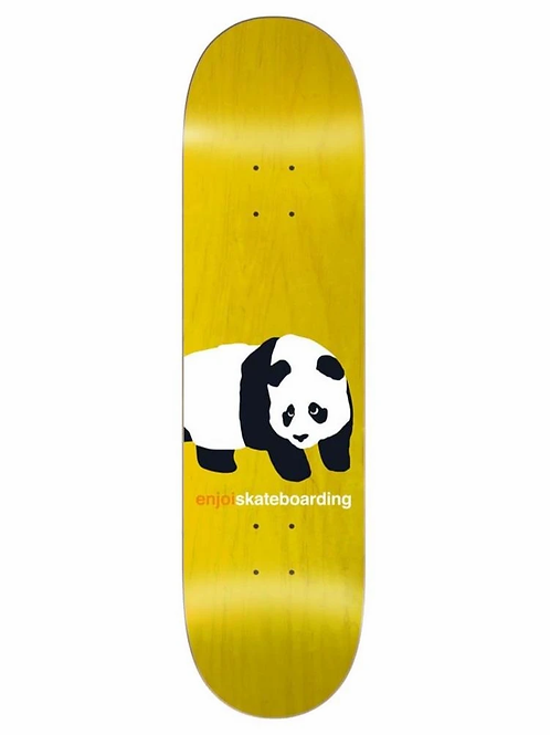 Enjoi Peekaboo Panda R7 Yellow 8.0