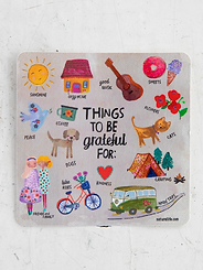 Things to be Grateful for ~Vinyl Sticker
