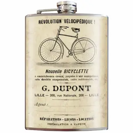 Bicyclette Flask