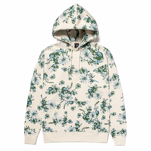 Huf Dazy Pullover Hoodie Unbleached