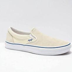 Vans Skate Slip On Off White