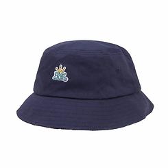 Huf Crown Reversible Bucket Hat Navy Blazer