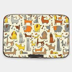 Canine Characters Armored Wallet