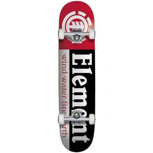 Element Section Blk/White/Red 8.0 Complete