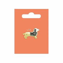Sausage Dog Enamel Pin