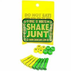 """Shake Junt 1"""" Phillips Green Yellow Hardware Set"""
