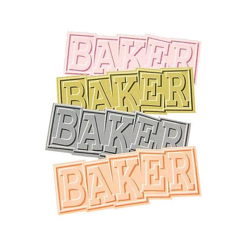 Baker Ribbon Sticker Assorted