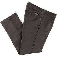 Dickies Slim Fit Flex Straight Leg Work Pants Charcoal