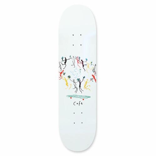 Skateboard Cafe Unity Deck White