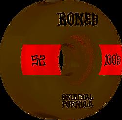 Bones 100's V4 Wide 52mm