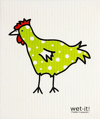 Wet It Spotted Chicken Green