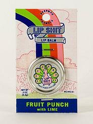 Blue Q Lip Shit Lip Balm Fruit Punch