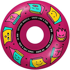 Spitfire Sk8 Like a Girl Radial F4 54mm 99a Pink