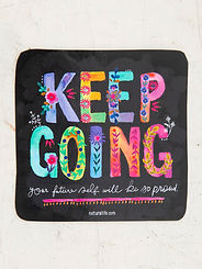 Keep Going ~Vinyl Sticker