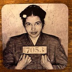 Rosa Parks Mugshot Coaster