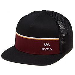 RVCA Pier Trucker Hat Black
