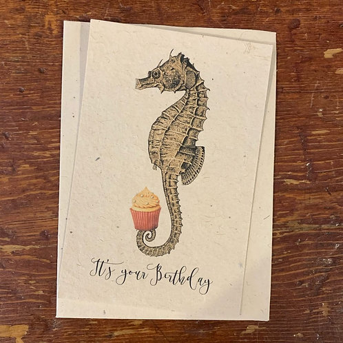 Notecard~It's Your Birthday