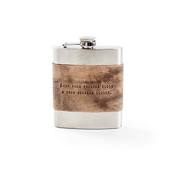 Keep Your Friends Close Flask
