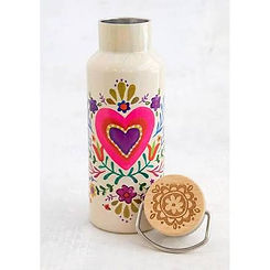Natural Life Travel Heart Water Bottle