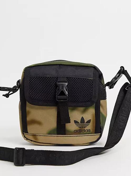 Adidas Original Large Festival Crossbody Bag Blur Camo