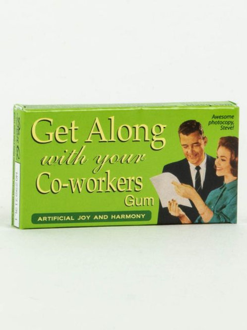 Blue Q Get Along With Your Co Workers Gum