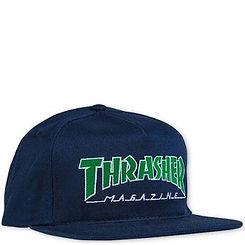 Thrasher Outlined Snapback Green/Navy
