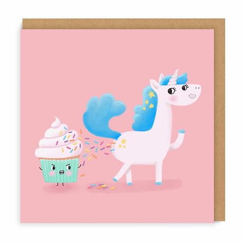 Unicorn Poop Greeting Card