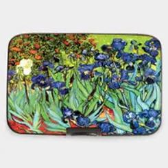 Van Gogh Irises Armored Wallet