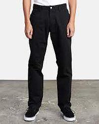 RVCA Weekend Straight Black Pant