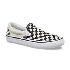 Vans Slip On Pro Checkerboard Blk/Wht