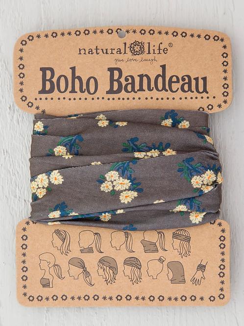 Natural Life Boho Bandeau Cocoa Daisies