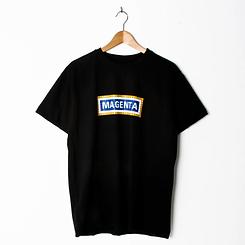 Magenta Station T-Shirt Black